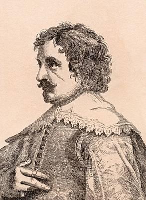 Paulus Pontius 1603-1658 Flemish Artist Poster by Vintage Design Pics