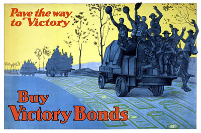 Pave The Way To Victory Poster by War Is Hell Store