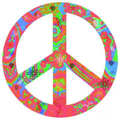 Peace Poster by Linda Lees