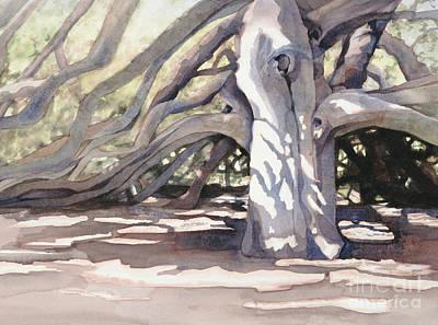 Pechanga Great Oak Poster by Bonnie Rinier