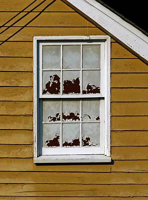 Peeling Window Poster by Murray Bloom