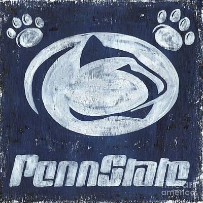 Penn State Poster by Debbie DeWitt