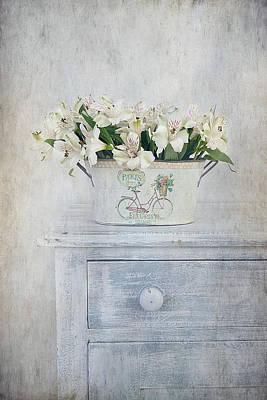 Peruvian Lilies Poster by Kim Hojnacki