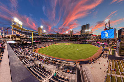 Petco Park - Farewell To 2015 Season Poster by Mark Whitt