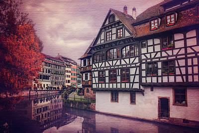 Petite France In Strasbourg  Poster by Carol Japp