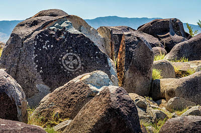 Petroglyph 1 Poster by James Barber