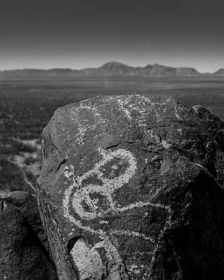 Petroglyphs IIi Poster by Joseph Smith