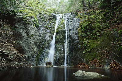Pfeiffer Falls - Big Sur Poster by Soli Deo Gloria Wilderness And Wildlife Photography