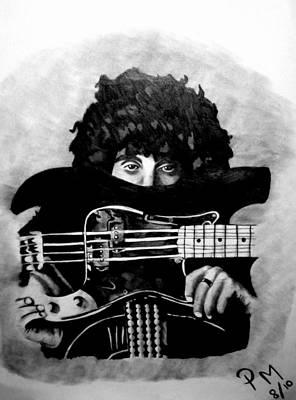 Phil Lynott Poster by Pauline Murphy