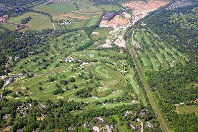 Philadelphia Cricket Club Wissahickon Militia Hill Golf Courses Poster by Duncan Pearson