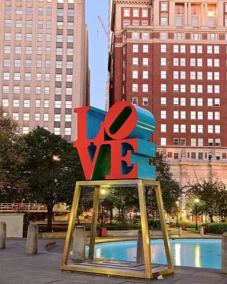 Philly Love Poster by Skyline Photos of America