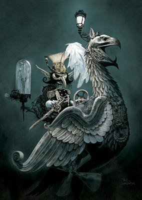 Phoenix Goblineer Poster by Paul Davidson