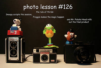 Photo Lesson  Poster by Toni Hopper