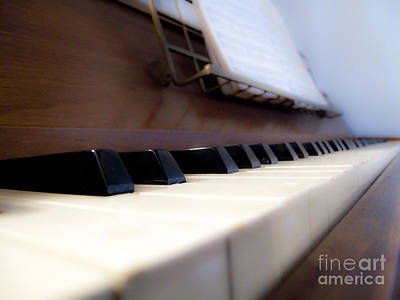 Piano Poster by Valerie Morrison