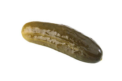 Pickle Poster by Michael Ledray