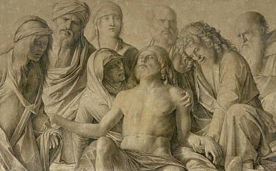 Pieta Poster by Giovanni Bellini