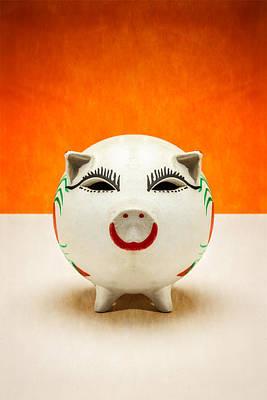 Piggy Bank Smile Poster by Yo Pedro