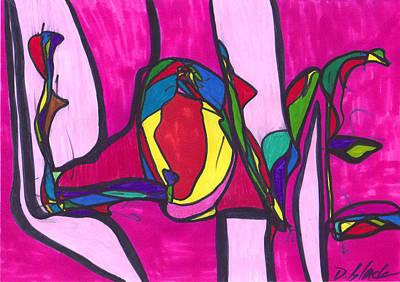 Pillar Of Love Poster by Darrell Black