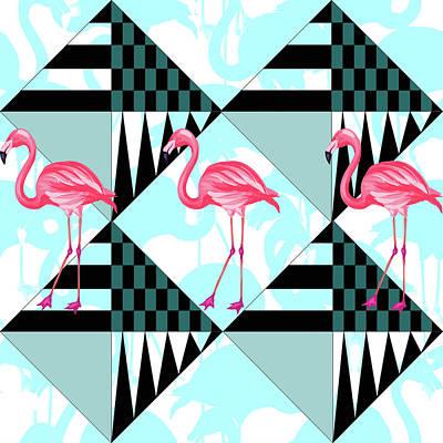 Ping Flamingo Poster by Mark Ashkenazi