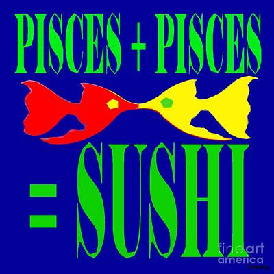 Pisces Poster by Patrick J Murphy