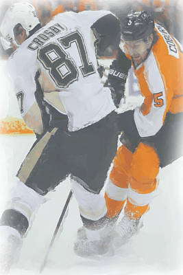 Pittsburgh Penguins Sidney Crosby 2 Poster by Joe Hamilton