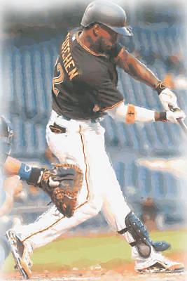 Pittsburgh Pirates Andrew Mccutchen 2 Poster by Joe Hamilton
