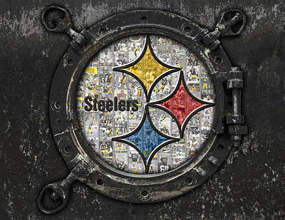 Pittsburgh Steelers Poster by Fairchild Art Studio