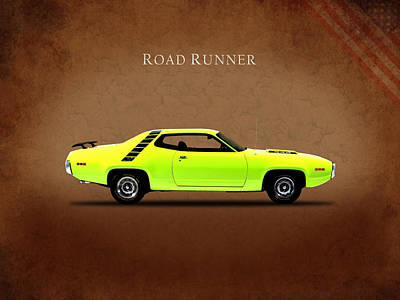 Plymouth Road Runner Poster by Mark Rogan