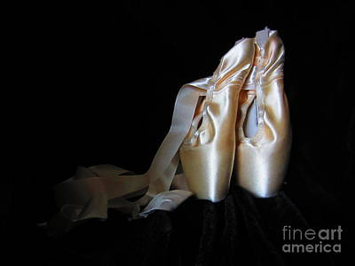 Pointe Shoes2 Poster by Laurianna Taylor