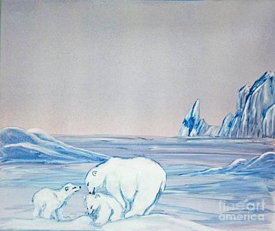Polar Ice Poster by Terri Mills