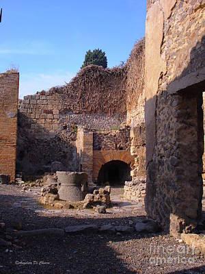 Pompeii,italy Poster by Italian Art