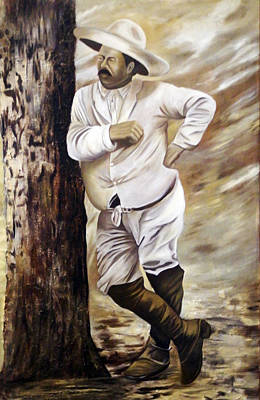 Poncho Villa II Poster by Kurt Van Wagner