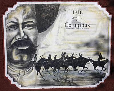 Poncho Villas Raid On Columbus New Mexico Poster by Kurt Van Wagner