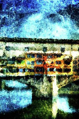 Ponte Vecchio Poster by Andrea Barbieri