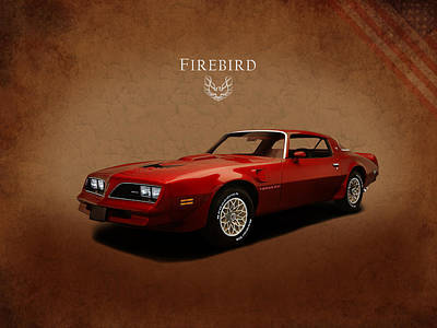 Pontiac Firebird Trans Am Poster by Mark Rogan