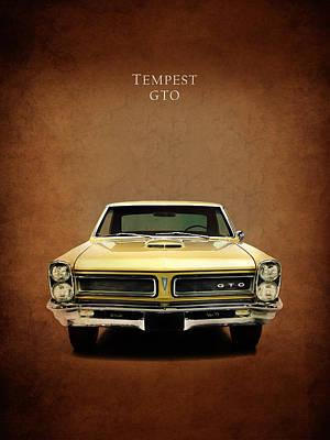 Pontiac Tempest Gto Poster by Mark Rogan