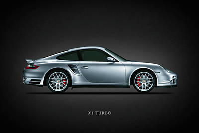Porsche 911 Turbo Poster by Mark Rogan