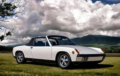 Porsche 914 Poster by Douglas Pittman