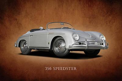 Porsche Speedster Poster by Mark Rogan