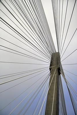 Port Mann Bridge Poster by Pelo Blanco Photo