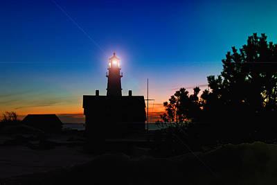 Portland Head Light - Maine Poster by Joann Vitali