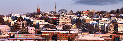 Portland Munjoy Hill Panorama Poster by Eric Gendron