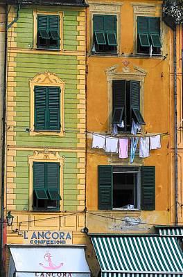 Portofino Poster by Paula McFann