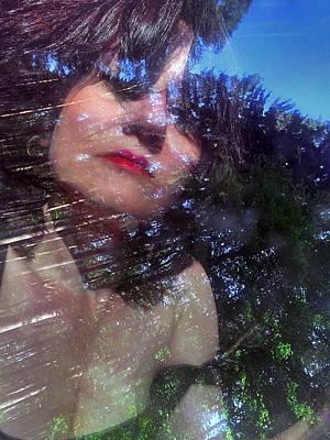 Portrait In The Forest Poster by Renata Vogl
