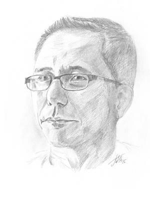 Portrait Poster by Masha Batkova