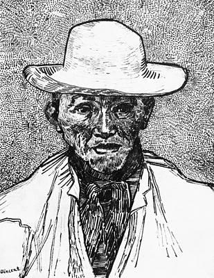 Portrait Of A Farmer Poster by Vincent Van Gogh