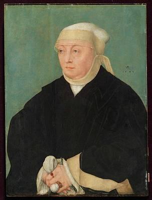Portrait Of A Woman Poster by Lucas Cranach