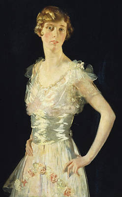Portrait Of Gardenia Poster by Sir William Orpen