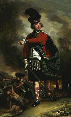 Portrait Of Hugh Montgomerie Poster by John Singleton Copley