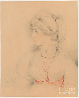 Portrait Of Sarah Martha Poster by Sir Thomas Lawrence